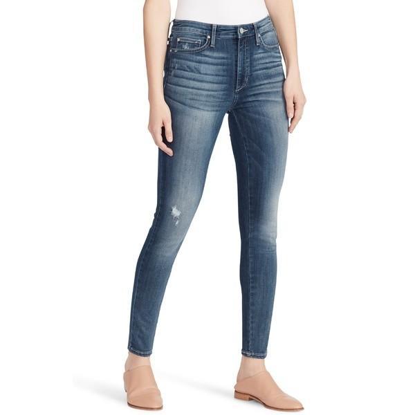 正規品 エラモス カジュアルパンツ ボトムス Moss レディース Ella Moss Distressed Skinny High ボトムス Waist Skinny Jeans (Piper) Piper, マイスターかかし屋:c9ecbee1 --- sonpurmela.online