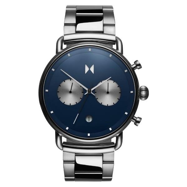 有名な高級ブランド エムブイエムティー MVMT 腕時計 Navy/ アクセサリー レディース MVMT Blacktop Watch, Bracelet Watch, 47mm Silver/ Navy/ Silver, エナグン:d5f6a94c --- sonpurmela.online