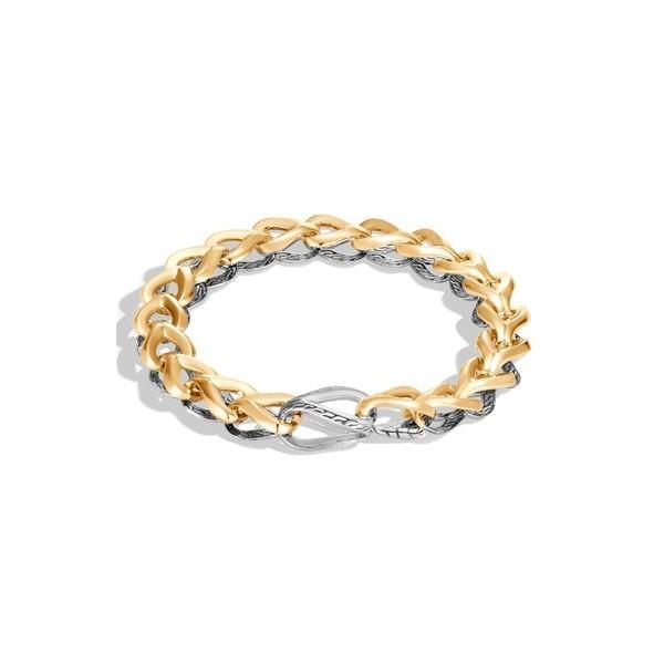 好きに ジョン・ハーディー ブレスレット・バングル・アンクレット アクセサリー レディース レディース Hardy John Hardy Bracelet Asli Classic Chain Reversible Bracelet Silver/ Gold, ハセムラ:3bcf13d7 --- airmodconsu.dominiotemporario.com