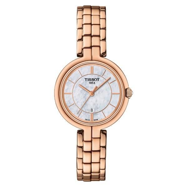 【超特価】 ティソット 腕時計 アクセサリー レディース Tissot Flamingo Bracelet Watch, 26mm Rose Gold/ Mop/ Rose Gold, グリーンウィーク 2649f84b