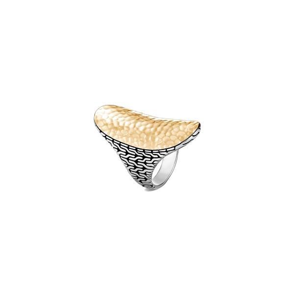 55%以上節約 ジョン・ハーディー リング アクセサリー レディース John Hardy Classic Chain Hammered 18K & Sterling Silver Ring Gold, 焼津市 4a665ff9