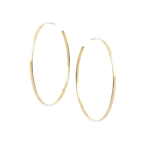 【公式ショップ】 ラナ ピアス&イヤリング アクセサリー レディース Lana Jewelry Sunrise Hoop Earrings Yellow Gold, ハナマルキ 6f03ab0a