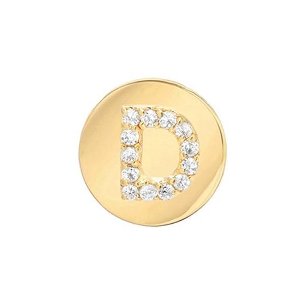 人気No.1 ミニミニジュエルズ ピアス&イヤリング アクセサリー レディース Mini Mini Yellow Mini Gold- Jewels Framed Diamond Initial Earring Yellow Gold- D, 桑名郡:bb3e705a --- airmodconsu.dominiotemporario.com