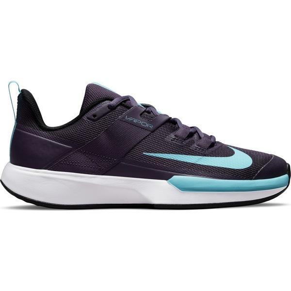 ナイキ シューズ レディース テニス Nike Women#039;s Vapor Lite Shoes Turquoise セール Black Aqua or Court Hard 5☆好評 Tennis