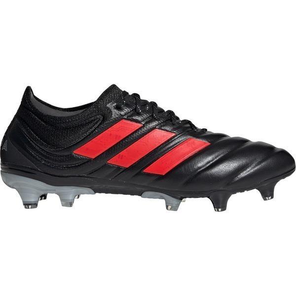 アディダス シューズ メンズ サッカー adidas Men's Copa 19.1 Firm Ground Soccer Cleats Core Black/Hi-Res Red S18/Silver Met.