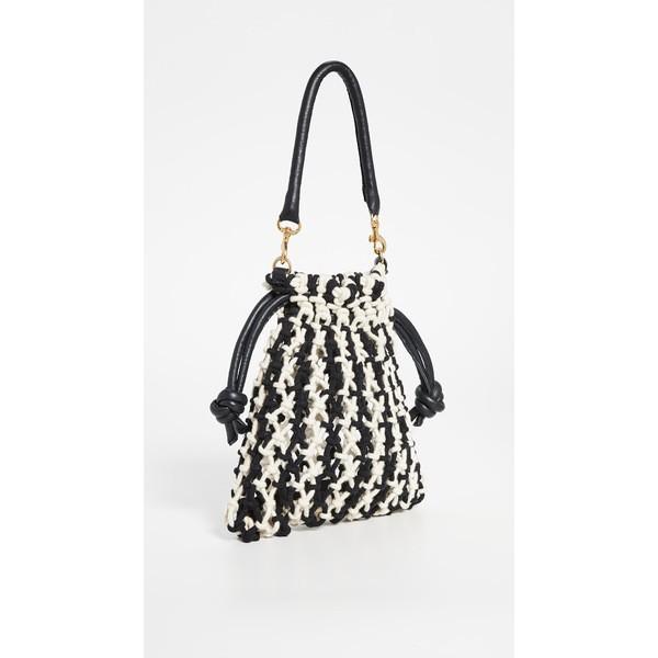 クレアブイ レディース ボディバッグ・ウエストポーチ バッグ Top Handle Sandy Bag 黒/Natural