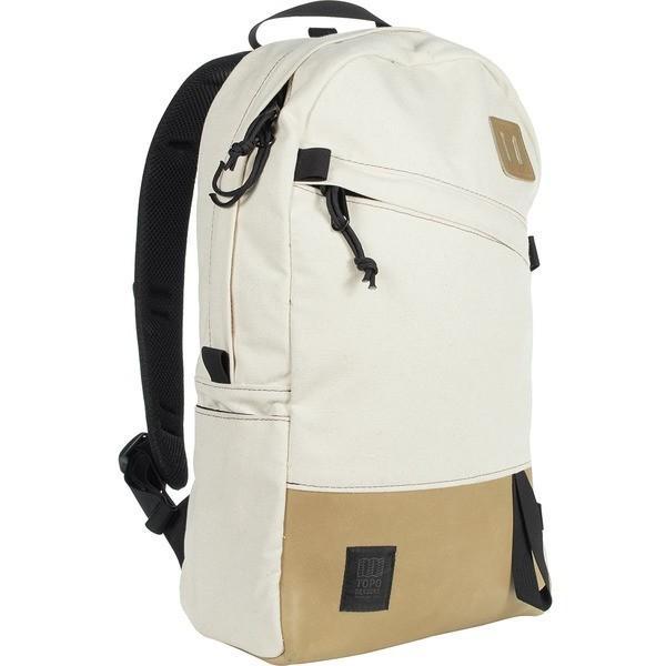 最終決算 トポ Leather・デザイン バックパック Backpack メンズ・リュックサック メンズ バッグ Daypack 22L Backpack Natural/Khaki Leather, 北欧雑貨byPOS:671d7275 --- fresh-beauty.com.au
