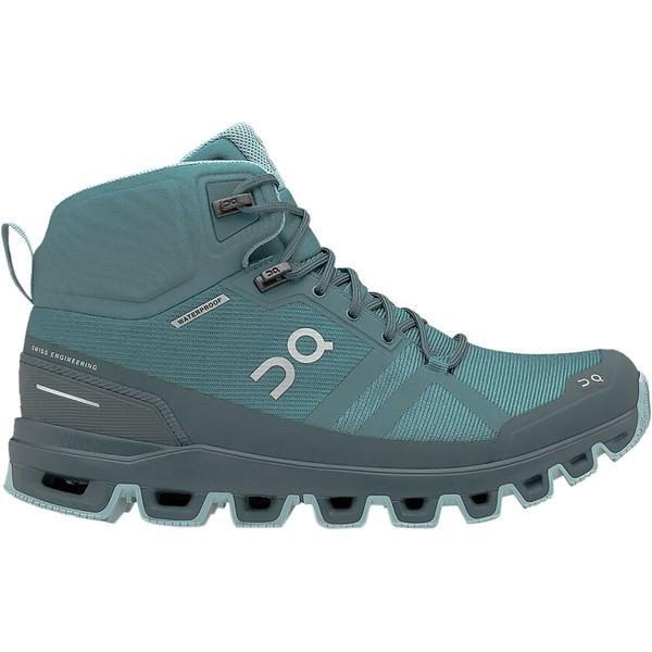 オン ランニング シューズ レディース ハイキング Cloudrock Hiking Boot - Women's Storm/Wash