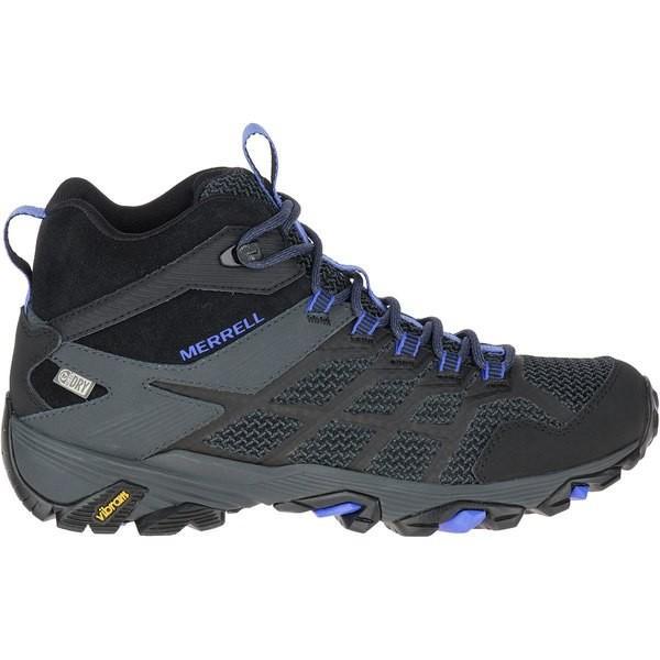 メレル シューズ レディース ハイキング Moab FST 2 Mid Waterproof Hiking Boot BLA