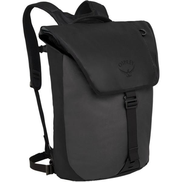 世界有名な オスプレーパック 20L Backpack バックパック・リュックサック メンズ バッグ Transporter Flap 20L Black Backpack Black, 華みち:3183286b --- fresh-beauty.com.au