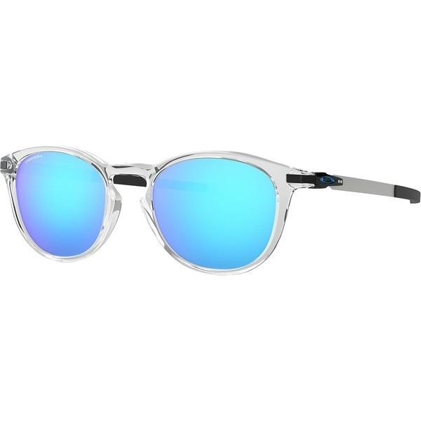 【まとめ買い】 オークリー サングラス W/Prizm・アイウェア メンズ Clear Sapphire アクセサリー Pitchman R Prizm Sunglasses Polished Clear W/Prizm Sapphire, スマイルDVD 本店:1e1c2fee --- grafis.com.tr