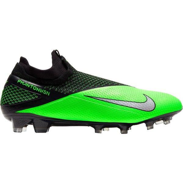 ナイキ シューズ メンズ サッカー Nike Phantom Vision 2 Elite Dynamic Fit FG Soccer Cleats Black/Green