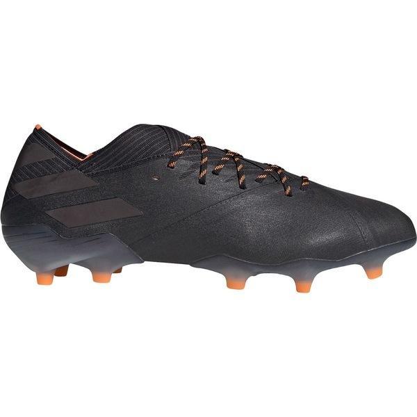 アディダス シューズ メンズ サッカー adidas Men's Nemeziz 19.1 FG Soccer Cleats Black/Orange