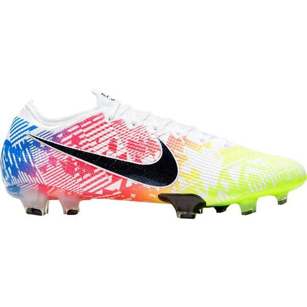 ナイキ シューズ メンズ サッカー Nike Mercurial Vapor 13 Elite Neymar JR FG Soccer Cleats White/Blue