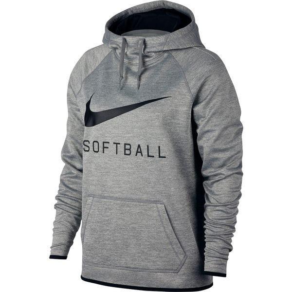 ナイキ トップス レディース ランニング Nike Women's Softball Pullover Hoodie DarkグレーHeather