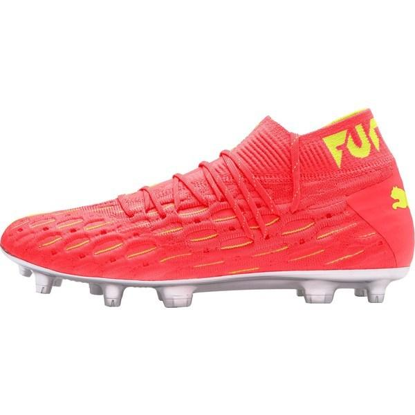 プーマ シューズ メンズ サッカー PUMA Men's Future 5.1 NetFit FG OSG Soccer Cleats Orange/Yellow