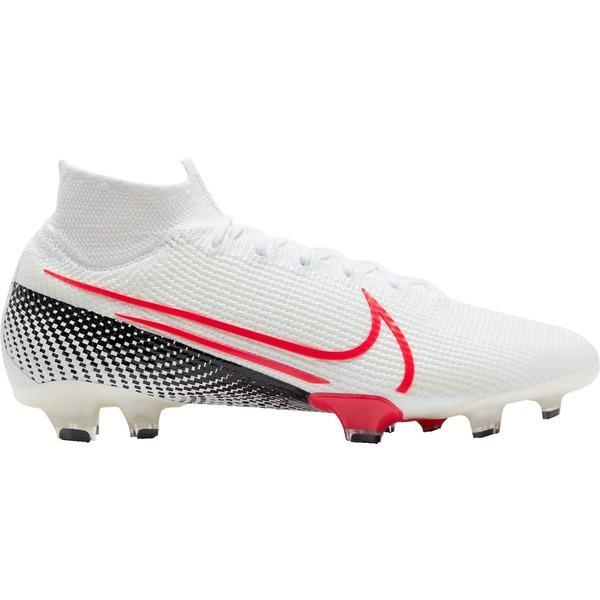 ナイキ シューズ メンズ サッカー Nike Mercurial Superfly 7 Elite FG Soccer Cleats White/Red