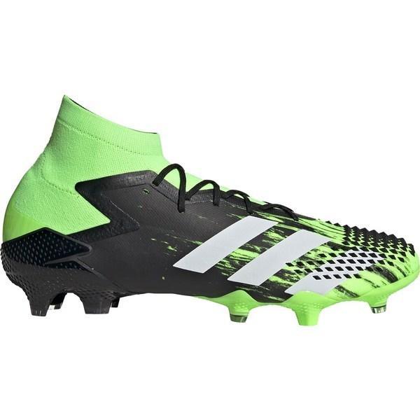 アディダス シューズ メンズ サッカー adidas Predator 20.1 FG Soccer Cleats Green/Black