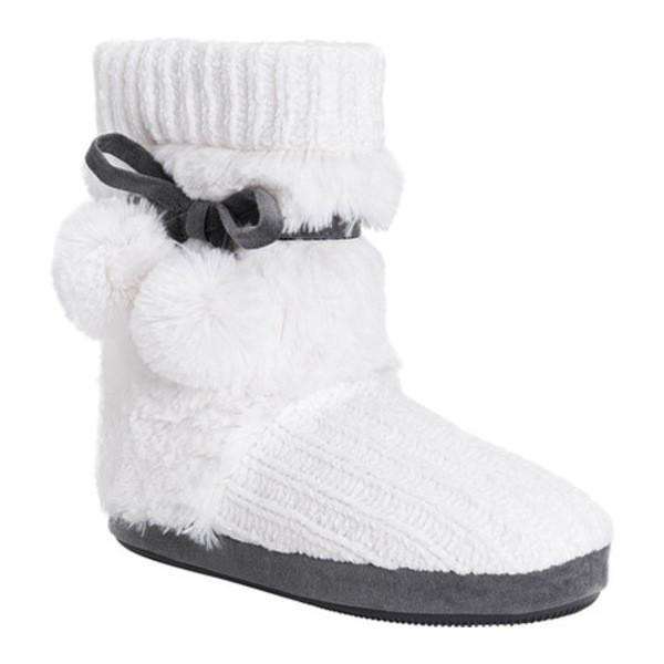 【激安アウトレット!】 ムクルクス レディース ブーツ&レインブーツ シューズ レディース Shannon ムクルクス Bootie Slipper White White Polyester/Faux Fur, BrandMax:2f6dad23 --- fresh-beauty.com.au