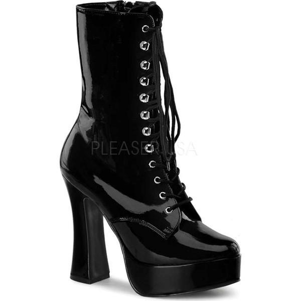 人気新品 プリーザー レディース Patent ブーツ&レインブーツ シューズ Electra 1020 1020 レディース Black Patent, 化粧品香水雑貨コスメパルフェ:3a078ef9 --- fresh-beauty.com.au