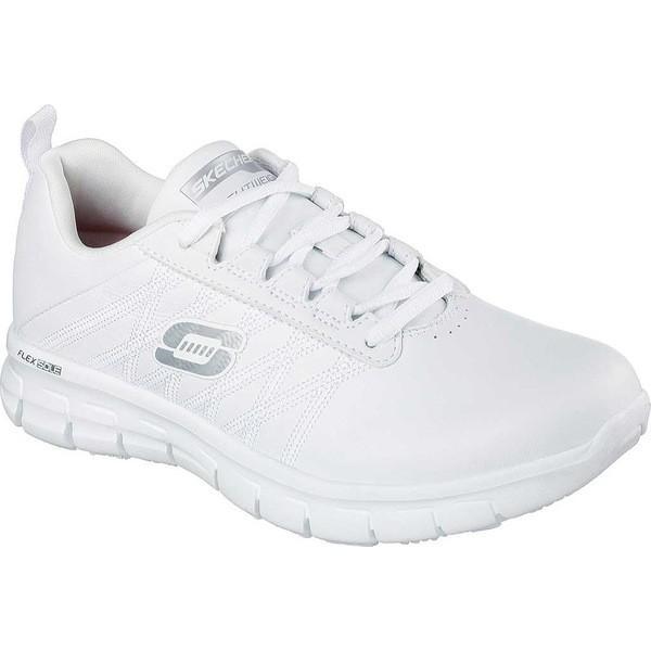 大きな取引 スケッチャーズ レディース スニーカー White シューズ Sure Work Relaxed スケッチャーズ Fit Sure Track Erath Slip Resistant White, 和物屋:24f7b662 --- theroofdoctorisin.com
