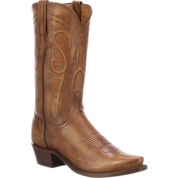 【送料無料(一部地域を除く)】 ルケーシー 5 メンズ ブーツ&レインブーツ シューズ シューズ Brandon 5 Toe ルケーシー Cowboy Boot Antique Whiskey Calfskin, 上島町:97681a01 --- opencandb.online