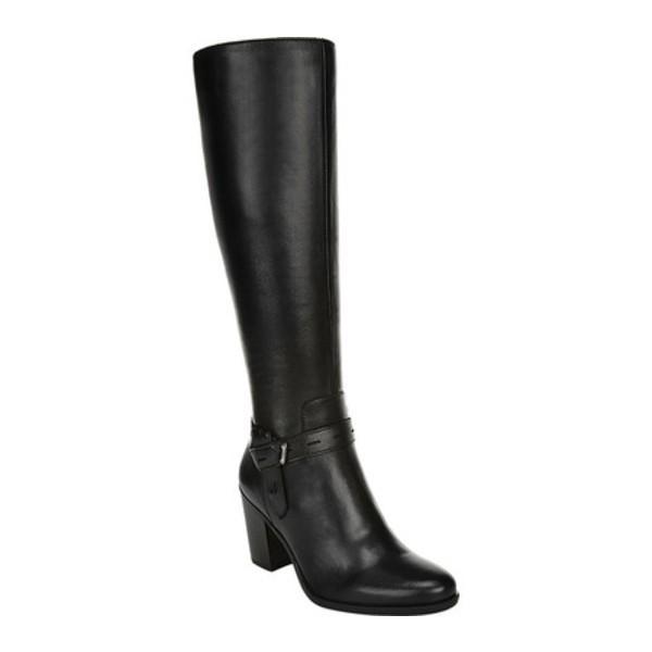 最新情報 ナチュライザー Knee レディース ブーツ&レインブーツ シューズ Kamora シューズ Kamora Knee High Boot Black Leather, コウナンシ:12e55da5 --- sonpurmela.online
