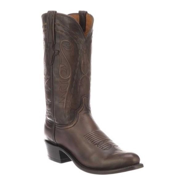 【オンライン限定商品】 ルケーシー Nick メンズ ルケーシー ブーツ Toe&レインブーツ シューズ Nick 7 Toe Western Boot Chocolate Ostrich Leg, State:1ef1f707 --- opencandb.online