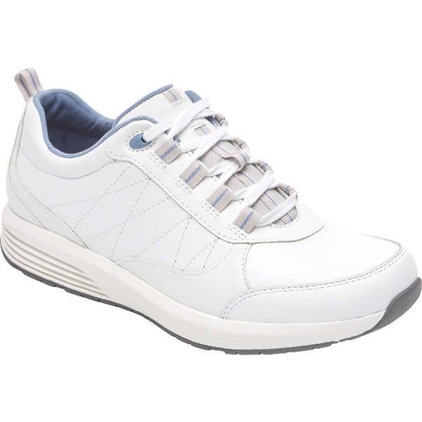 豪奢な ロックポート White レディース スニーカー シューズ Walking TruStride Walking Sneaker シューズ White Nubuck, RosyCats:6a46710b --- theroofdoctorisin.com