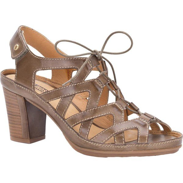 【正規品質保証】 ピコリーノス レディース サンダル シューズ Java Caged Sandal W0K-0964 Safari Leather, そうごう薬局 e-shop c9bd9d93