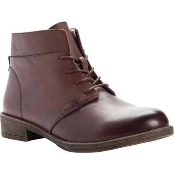 【WEB限定】 プロペット レディース ブーツ&レインブーツ シューズ Tatum Lace Bootie Brown Full Grain Leather, SEI Scratch 5261e7e1