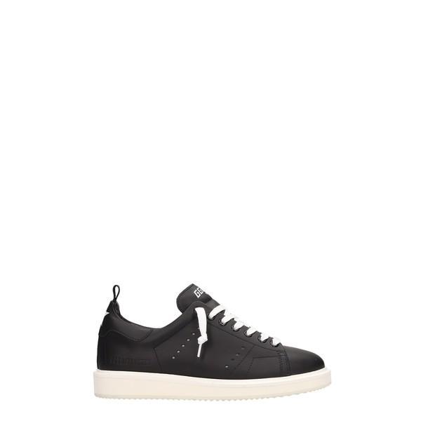 速くおよび自由な ゴールデングース Goose スニーカー black Sneakers レディース シューズ Golden Goose Starter Black Leather Sneakers black, ウレシノチョウ:0ec02b08 --- chizeng.com