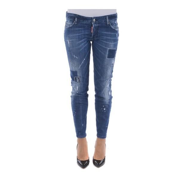 新版 ディースクエアード デニム レディース レディース ボトムス Jennifer デニム Jennifer Cropped Jeans Denim, 焼うるめ ながの食品:6c162496 --- sonpurmela.online