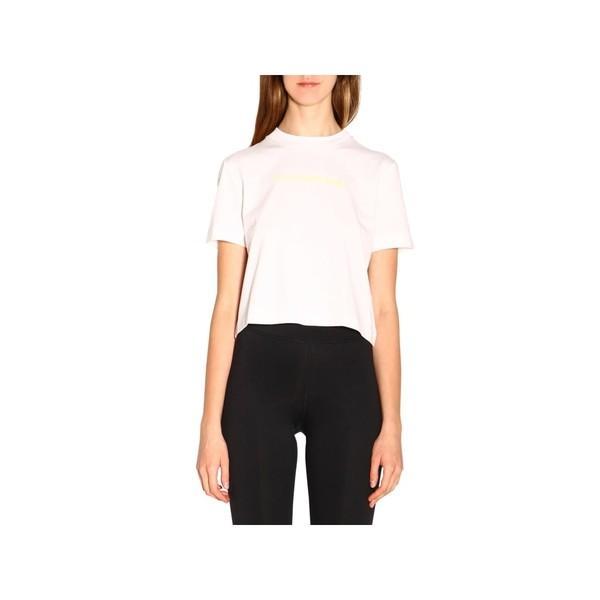 カルバンクライン カットソー レディース トップス Calvin Klein Jeans T-shirt T-shirt Women Calvin Klein Jeans 白い
