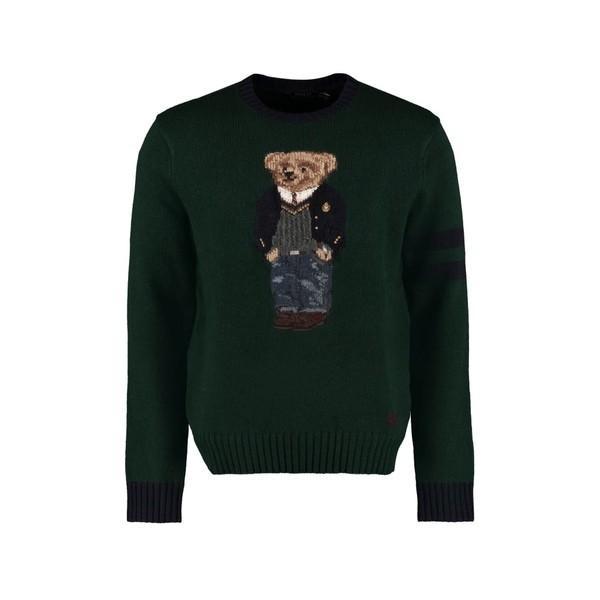 割引クーポン ラルフローレン ニット、セーター メンズ アウター Ralph Ralph Lauren Intarsia Wool Sweater Intarsia Sweater Bear, 人形工房 北寿:d36c1e6c --- levelprosales.com