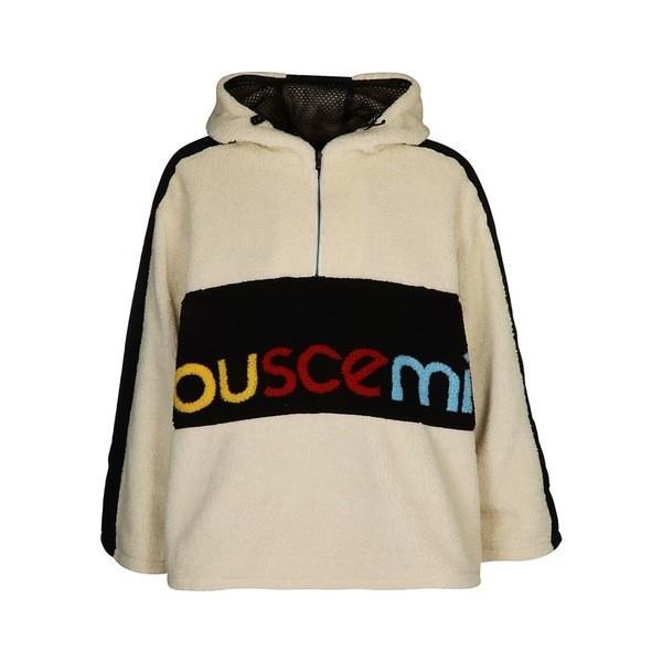 円高還元 ブシェミ ジャケット・ブルゾン メンズ アウター アウター Buscemi メンズ Logo Printed ブシェミ Sherling Sweatshirt White, Rakuten BRAND AVENUE Outlet:9339f09d --- chizeng.com