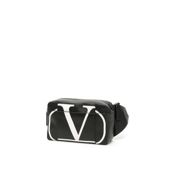 ヴァレンティノ ガラヴァーニ ボストンバッグ メンズ バッグ Valentino Garavani Go Logo Beltbag Nerobiancoottico