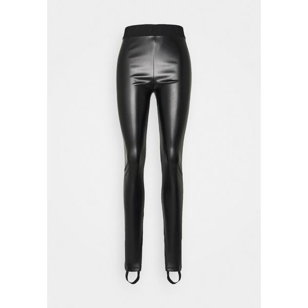 ジャストカバリ レギンス レディース ボトムス Leggings - Trousers - black