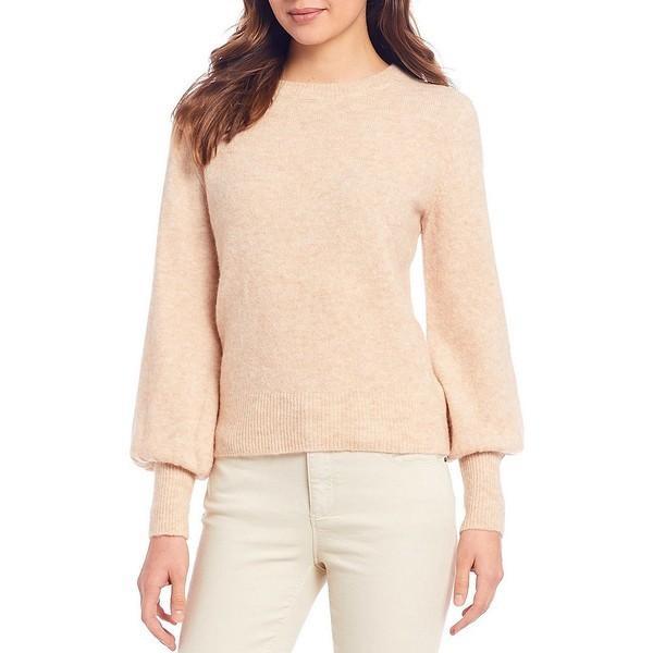 最大の割引 エーラブスエー レディース ニット&セーター アウター Blend レディース Crew Neck Soft Wool Wool Blend Sweater Oatmeal, follows:95004abc --- theroofdoctorisin.com