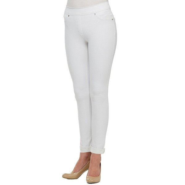 人気商品 ピーターニガード レディース デニム ボトムス Nygard SLIMS Luxe Denim 4-Way Stretch Skinny Jeans White, 串木野市 38fea141