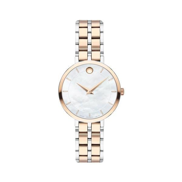 超美品 モバド レディース 腕時計 アクセサリー Kora Stainless Two-Tone Stainless Steel & Tone & Carnation PVD Bracelet Watch Two Tone, 格安:c9dd2bcd --- airmodconsu.dominiotemporario.com