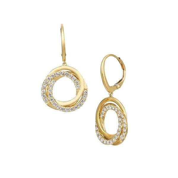 宅配便配送 ルヴァン レディース 14K ピアス&イヤリング アクセサリー & Nude Palette 14K Honey TCW Gold & 1 TCW Nude Diamonds Spiral Hoop Earrings Gold, サワラチョウ:f56013b1 --- airmodconsu.dominiotemporario.com