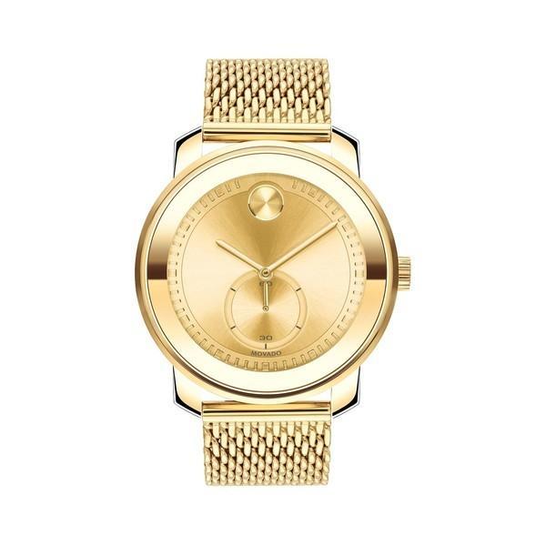 爆買い! モバド レディース 腕時計 Mesh アクセサリー Stainless Bold Goldtone Stainless Steel Mesh 腕時計 Bracelet Watch Gold, PHOTOGENIQUE:1cfefcbe --- airmodconsu.dominiotemporario.com