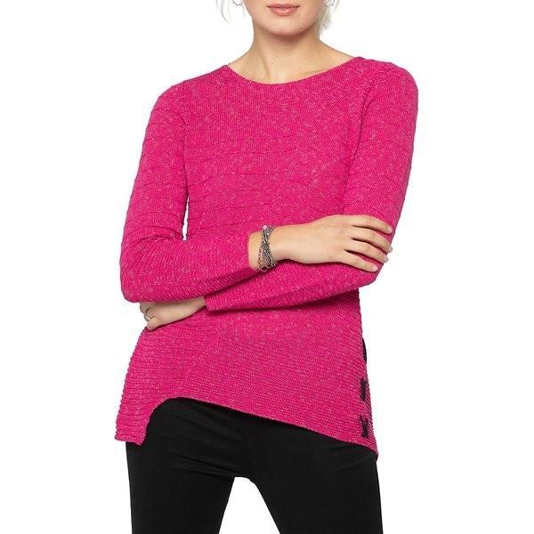 公式 ニックプラスゾーイ レディース ニット&セーター アウター Cross Stitch アウター Cotton-Blend Sweater Cross Pure Cotton-Blend Pink, 最新トレンド靴 SHARE:91268b02 --- theroofdoctorisin.com