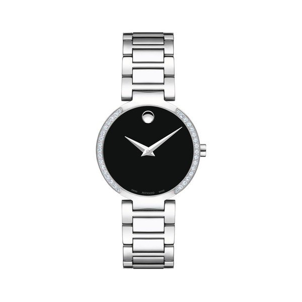 【在庫有】 モバド レディース 腕時計 アクセサリー Modern Modern Classic Steel Stainless Steel & 腕時計 Diamond Bracelet Watch Silver, インテリアショップ オルディ:1db7e8fa --- airmodconsu.dominiotemporario.com