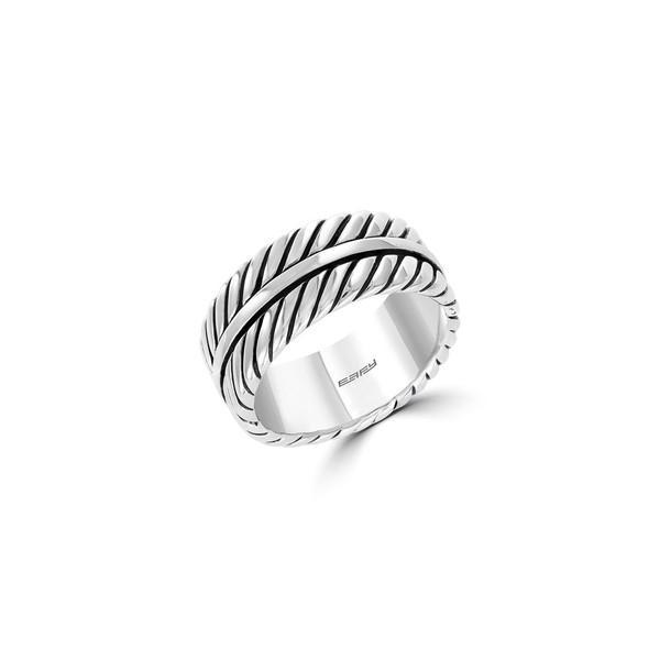 今季ブランド エフィー レディース Ring リング リング アクセサリー Gento 925 Gento Sterling Silver Ring Silver, ペットパラダイス:e277d352 --- airmodconsu.dominiotemporario.com
