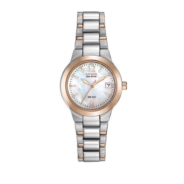 【在庫あり/即出荷可】 シチズン レディース 腕時計 アクセサリー Ladies Eco-Drive Two-Tone Watch Two Tone, 高梁市 89305a97
