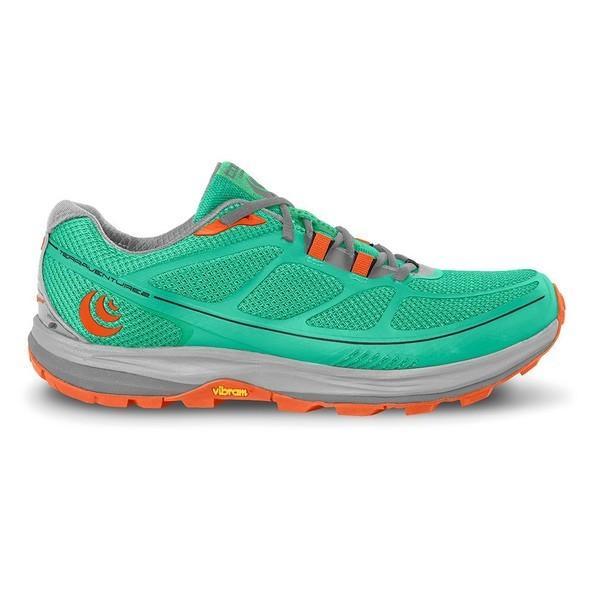 トポアスレチック シューズ レディース ランニング Topo athletic Terraventure 2 Mint / Tangerine