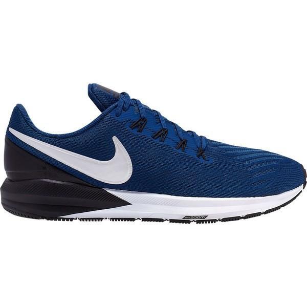 ナイキ シューズ メンズ ランニング Nike Air Zoom Structure 22 Coastal Blue / Chrome / Black