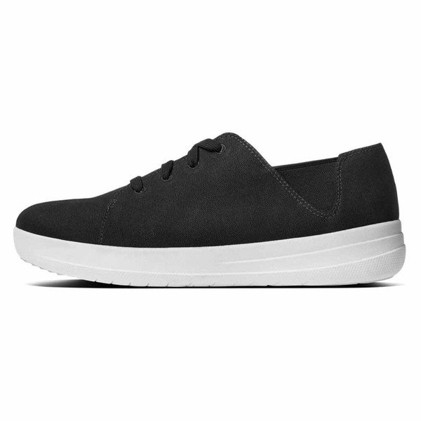 好きに フィットフロップ スニーカー レディース シューズ シューズ Sneaker スニーカー Fitflop F Sporty Lace Up Sneaker Black, しるし堂:2b52eb41 --- theroofdoctorisin.com
